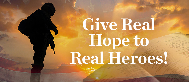 Give Real Hope to Real Heroes!